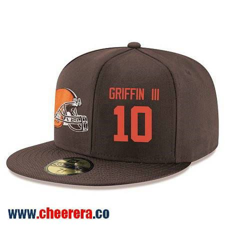 Cleveland Browns #99 Stephen Paea Snapback Cap NFL Player Brown with Orange Number Stitched Hat