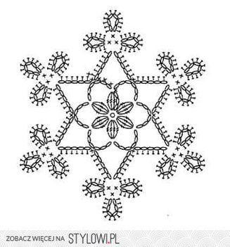 motif de flocon de neige