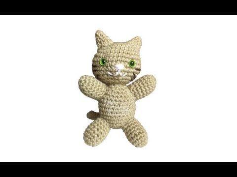 Amigurumis Paso A Paso En Español : Tutorial gato amigurumi paso a paso en español juguetes