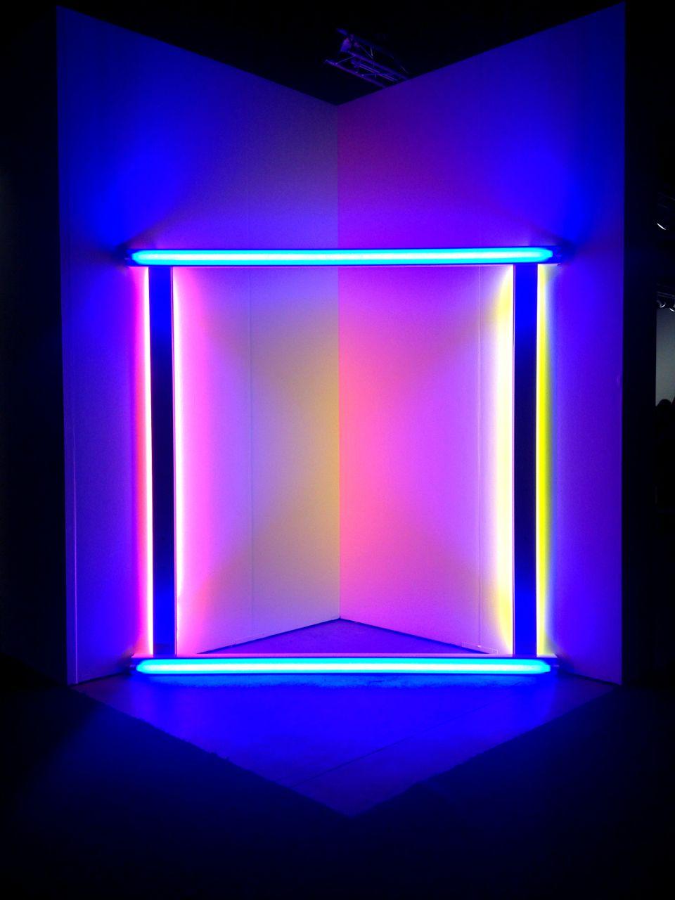 flavin dan light neon lights installation artist fluorescent visit architecture aesthetic tubes fondos