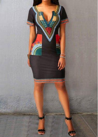 African Dashiki Dress For Women