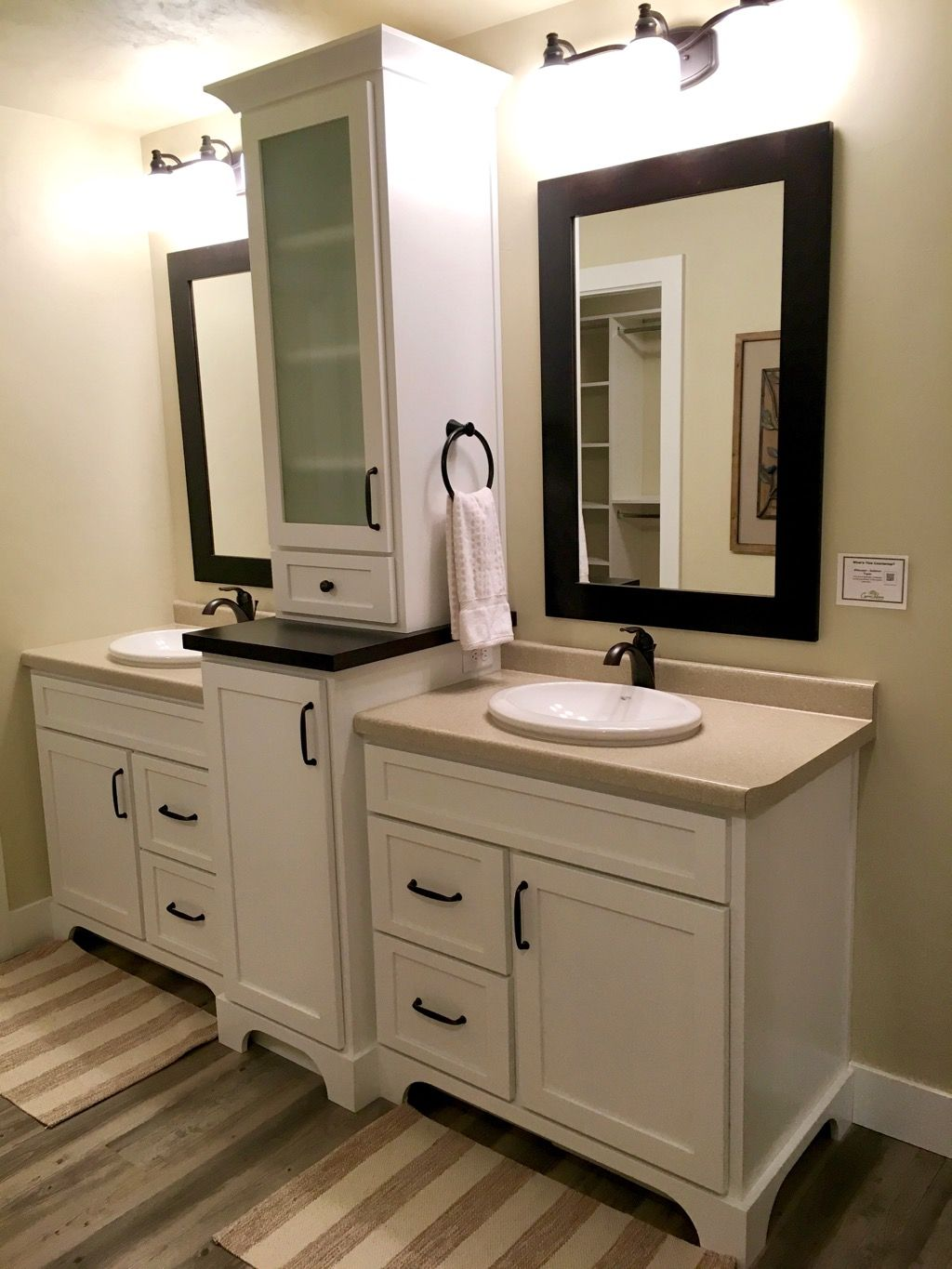 A Center Built In Is The Perfect Master Bathroom Piece To