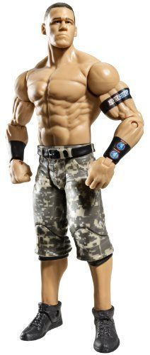 """WWE John Cena Figure Series 18 by Mattel. $16.99. Kids can recreate their favorite WWE matches. WWE Series #18 action figures in 7"""" Superstar Scale. Collect all your favorites WWE Superstars. Features extreme articulation, amazing accuracy, and authentic details. Bring home the officially licensed WWE action. From the Manufacturer                World Wrestling Entertainment Figure Series #18: Bring home the action of the WWE. Kids can recreate their favorite mat..."""