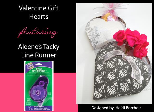 Aleene's Valentine Paper Hearts by EcoHeidi Borchers