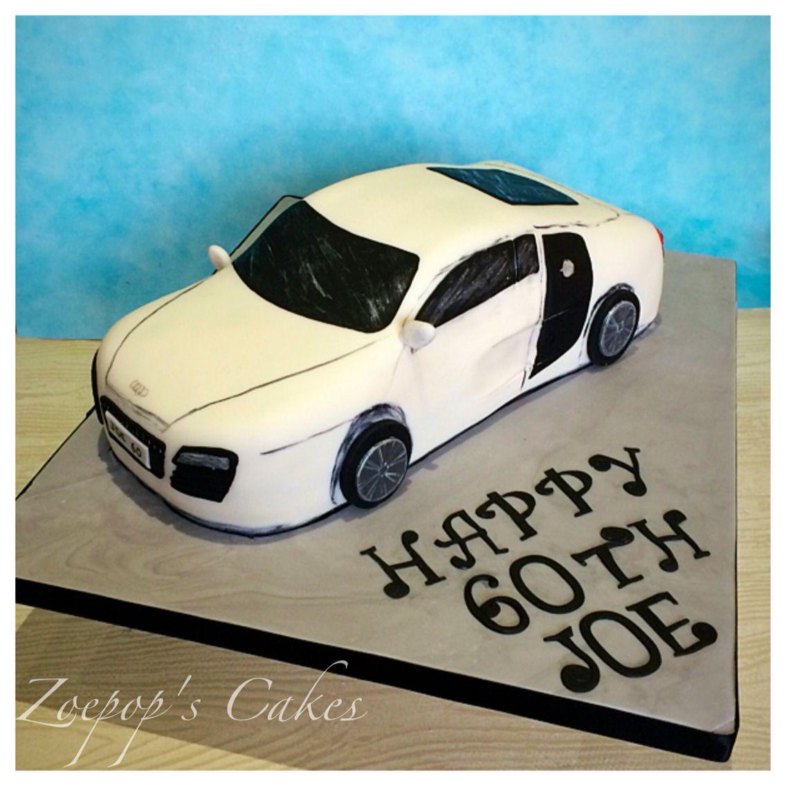 Audi R8 car cake