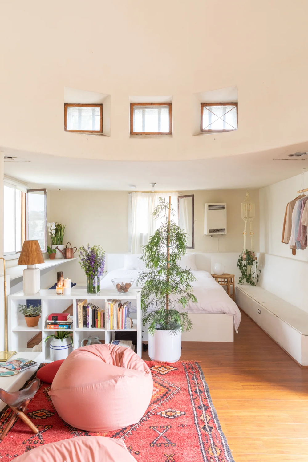 This Magical L.A. Studio Apartment Has a Dome in the Middle Of It