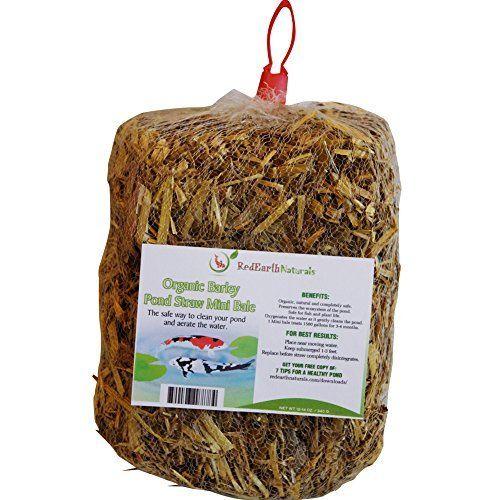 Summit 130 Clear Water Barley Straw Bales 2 Pack Barley Premium Organic Water Gardens Pond
