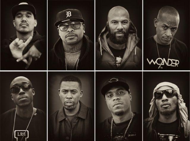 Hip Hop Portraits by Trevor Traynor