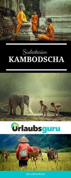 Kambodscha - Anders als in seinem berühmten Nachbarland Thailand könnt ihr hier noch das authentische Leben der Einheimischen miterleben, denn viele Gebiete gelten als Geheimtipp für abenteuersuchende Backpacker. #kambodscha #backpacking #suedostasien #angkorwat #kohrong #phnompenh #sihanoukville #fernreise #weltreise #traumziele #kambodschaguide #kambodschatipps #asienurlaub