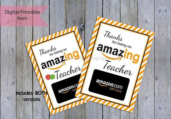 Printable Amaz Ing Gift Card Amazing Giftcard Holder Amaz Gift