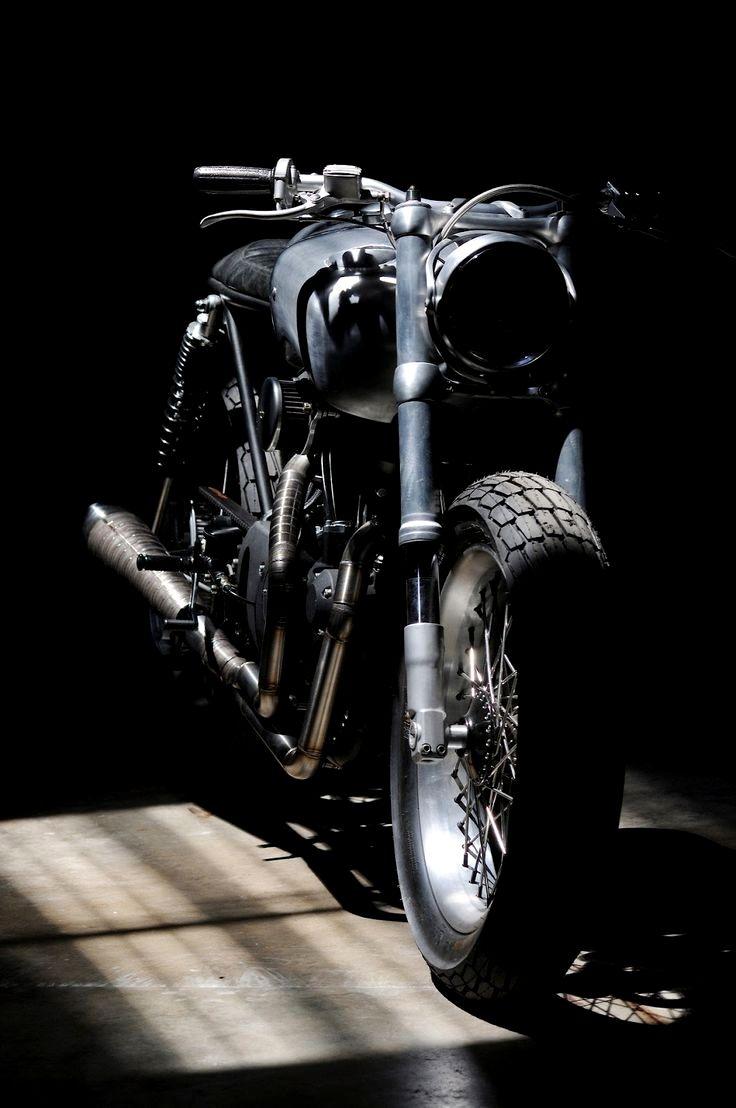 Thehalifaxjungle Cafe Racer Motorrad 3d Models