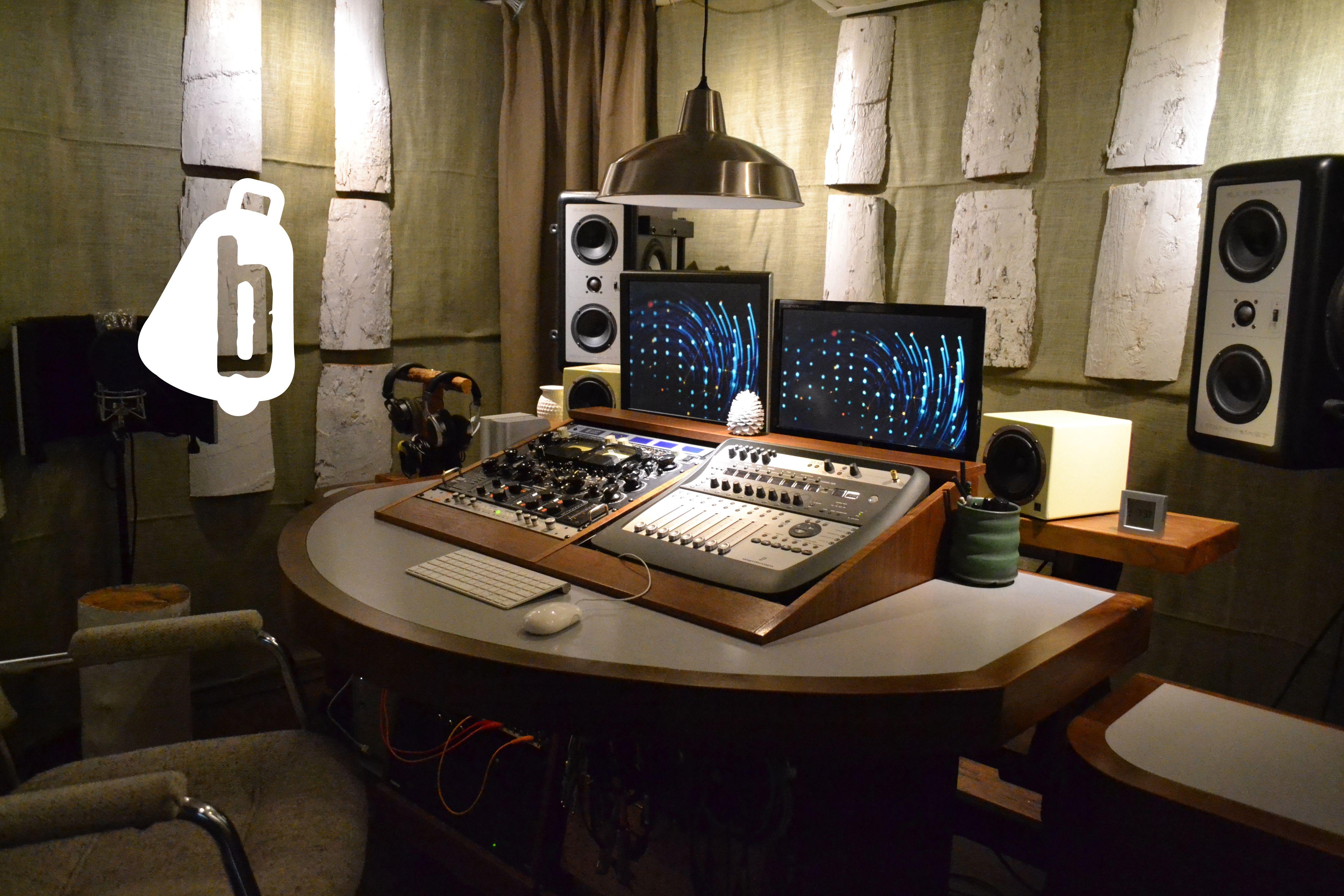 creative music mastering studio space. www.bellwethermas