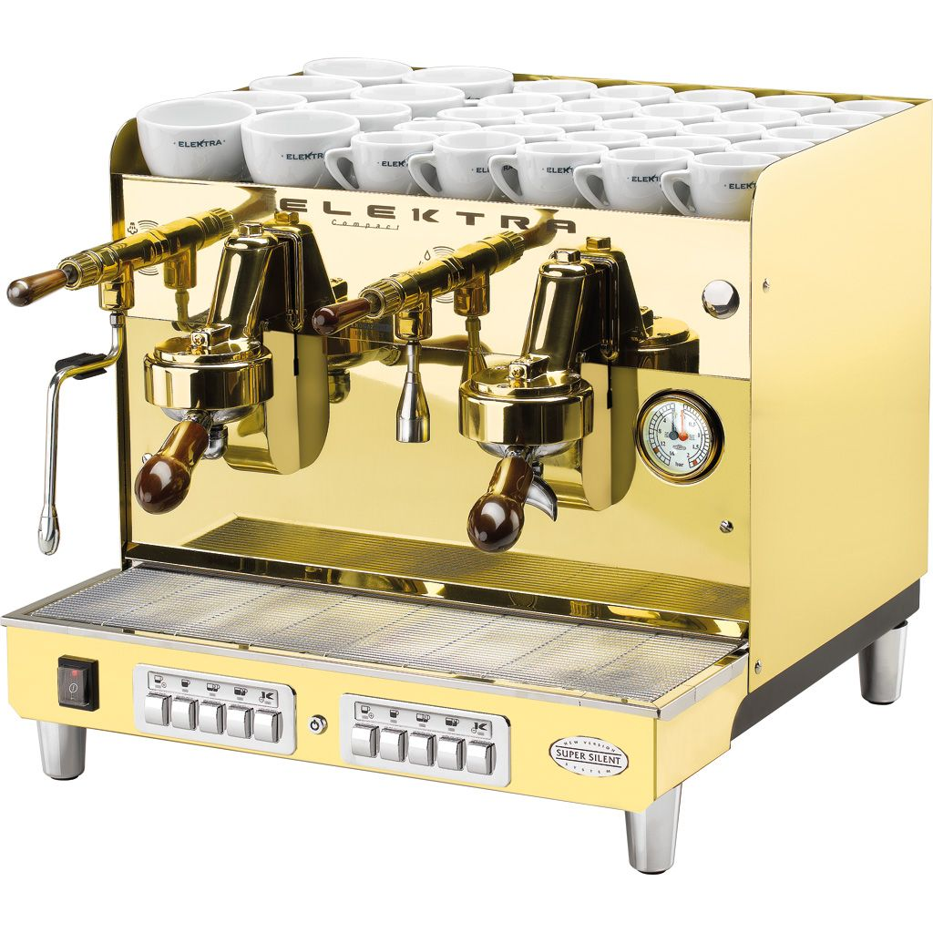 Electronic Italian Commercial Coffee Machines antiques on pinterest elektra sixties compact commercial espressomachine 2 group brass 7702 70