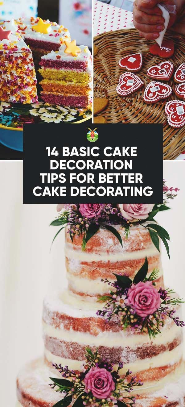 16 basic cake Decorating ideas
