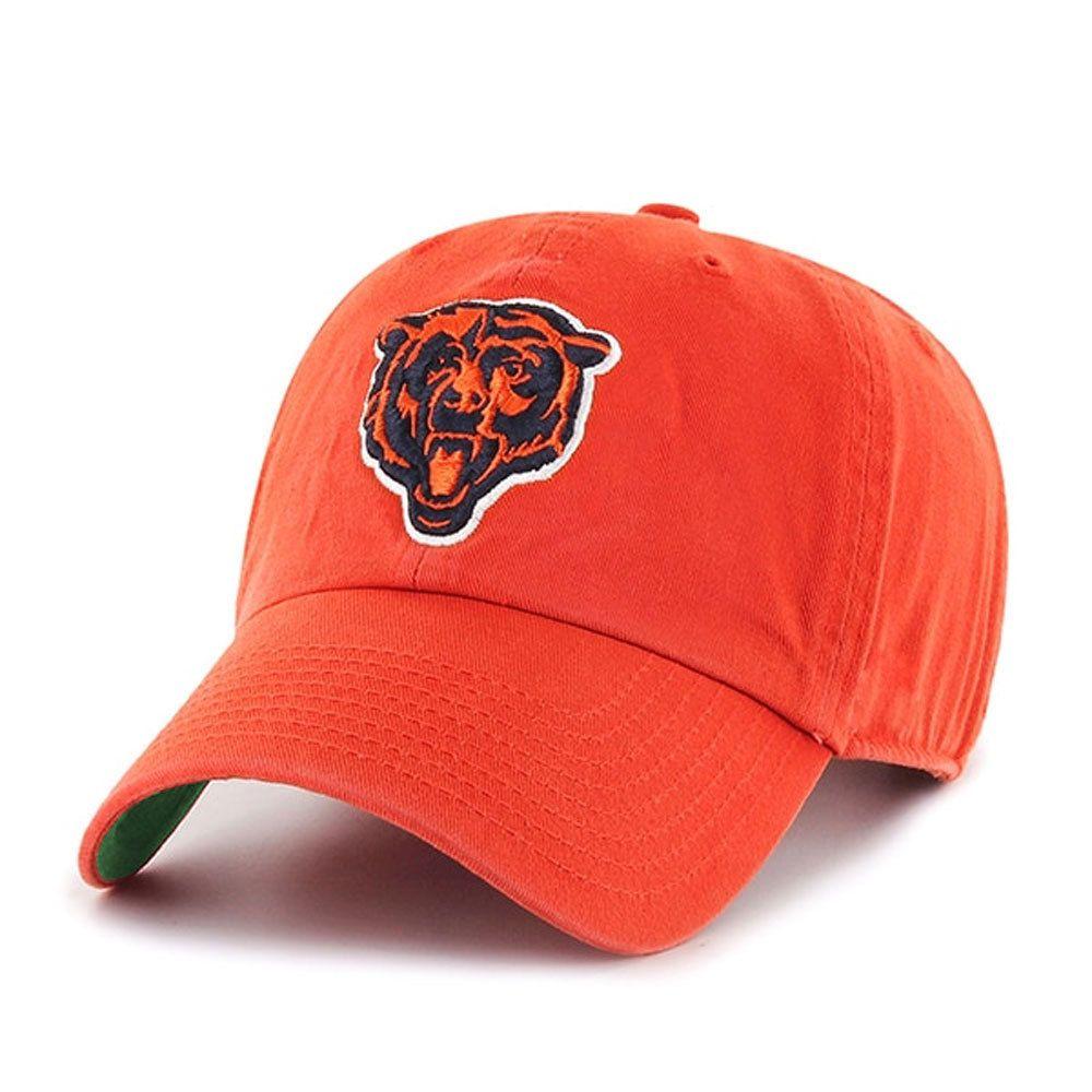 Chicago Bears Adjustable Orange Logo Hat by Reebok  ChicagoBears  Bears   DaBears 290f0a501
