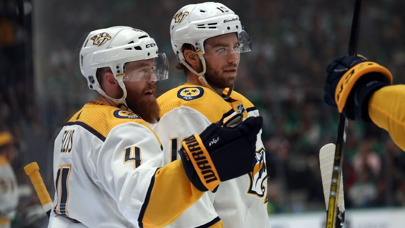 Nhl Playoff Bracket Update Predators Strike Back National Hockey League News Trong 2020