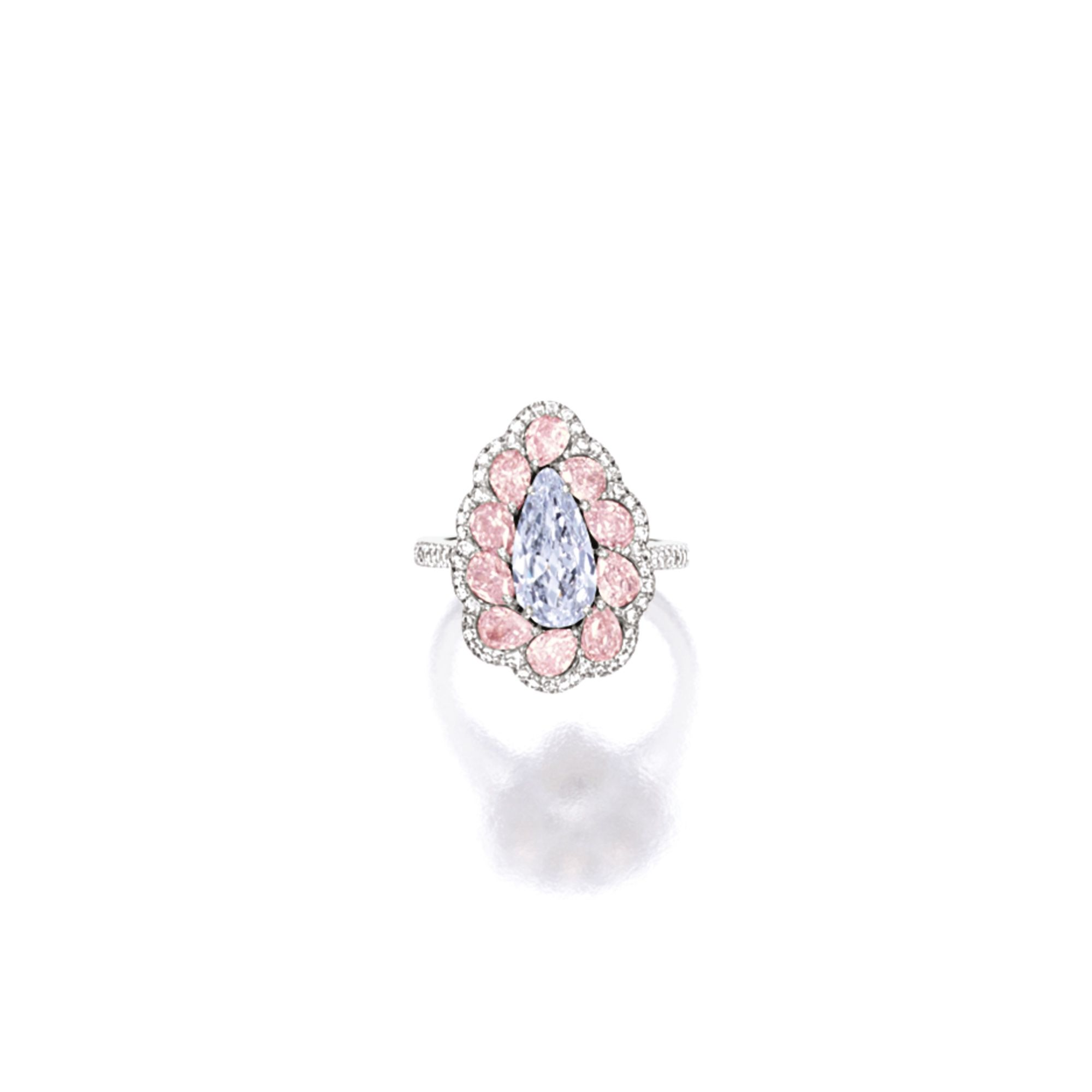 cut rings light and with radiant diamond colored diamondspink set a pink ring pin