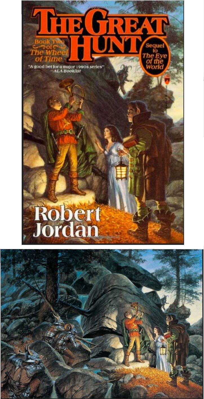 The Great Hunt Robert Jordan : great, robert, jordan, DARRELL, SWEET, Great, Robert, Jordan, Books, Cover, Isfdb, Print, Jordan,, Books,