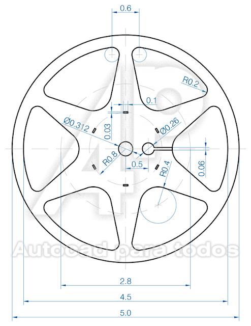Autocad Para Todos 100 Practico 2020 En 2020 Dibujos En Autocad Dibujo Tecnico Ejercicios Autocad