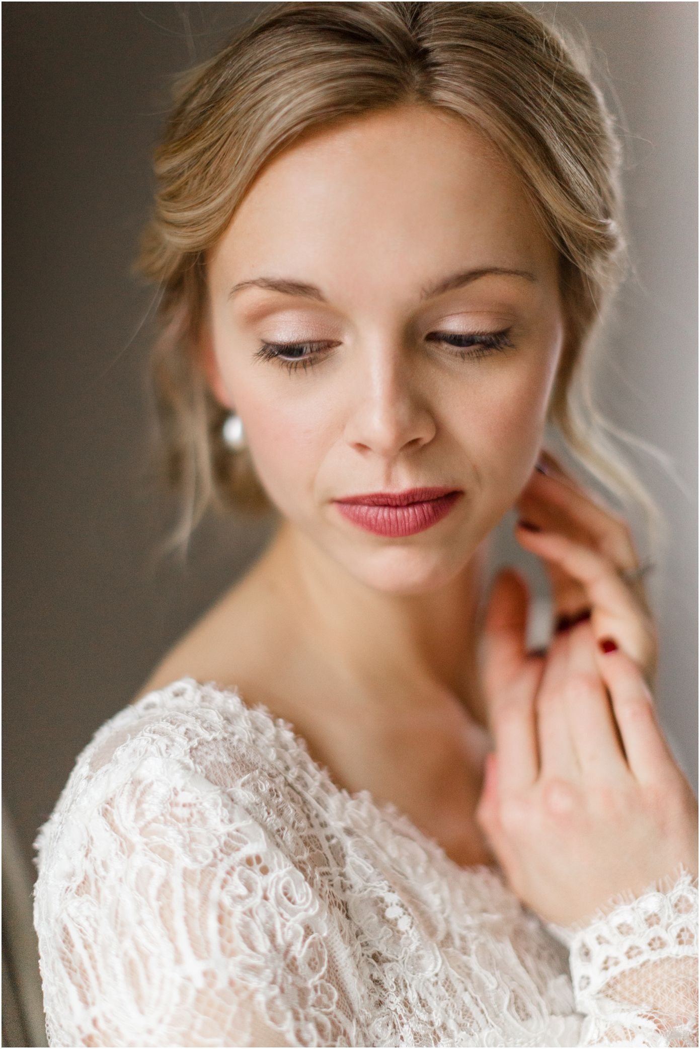 natural and beautiful wedding hair & makeup for blondes | wedding