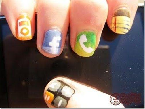 Coolest Nails Ever Beauty3 Pinterest