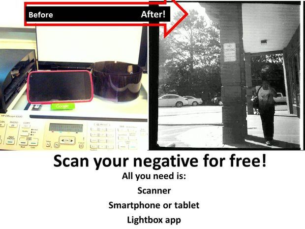 Scan Your Negatives Right Now for Free! Photo negative