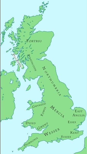 The Germanic invasions of Britain | Genealogy | Pinterest