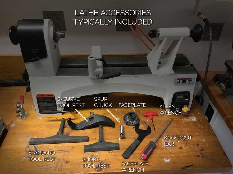 Identify Wood Lathe Parts And Accessories Woodturning Pinterest