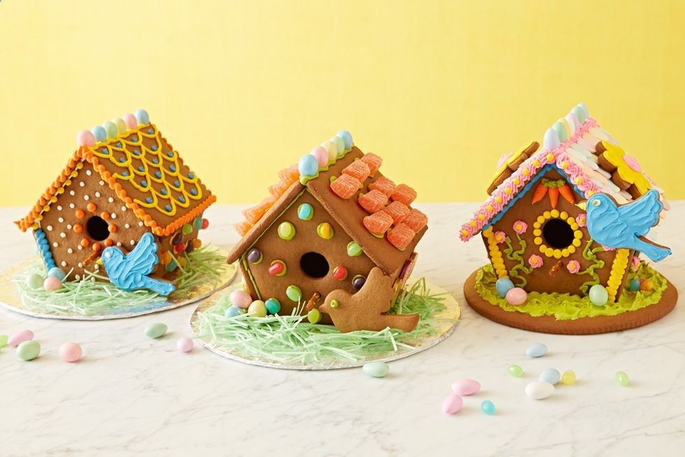 Spring gingerbread house ideas kids tired of being cooped up this winter let their also rh pinterest