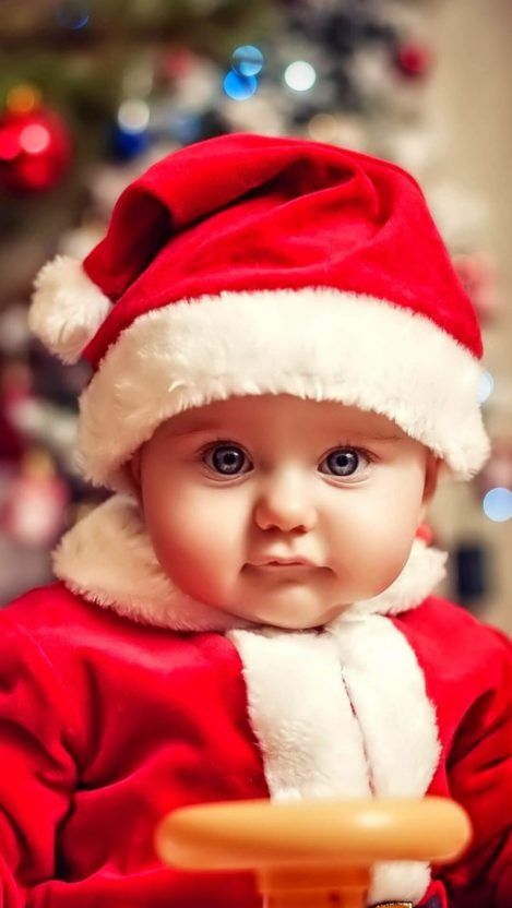 Baby Christmas Iphone Wallpaper Iphone Wallpapers Cute Baby Girl Images Baby Christmas Photos Cute Baby Boy