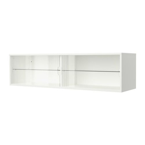 IKEA - GALANT, Wall cabinet with sliding doors, white, , Limited Warranty.  Read about the terms in the Limited