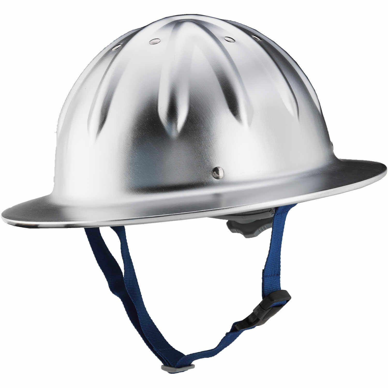 Forester Full Brim Aluminum Hard Hat Hard Hat Aluminum Hats