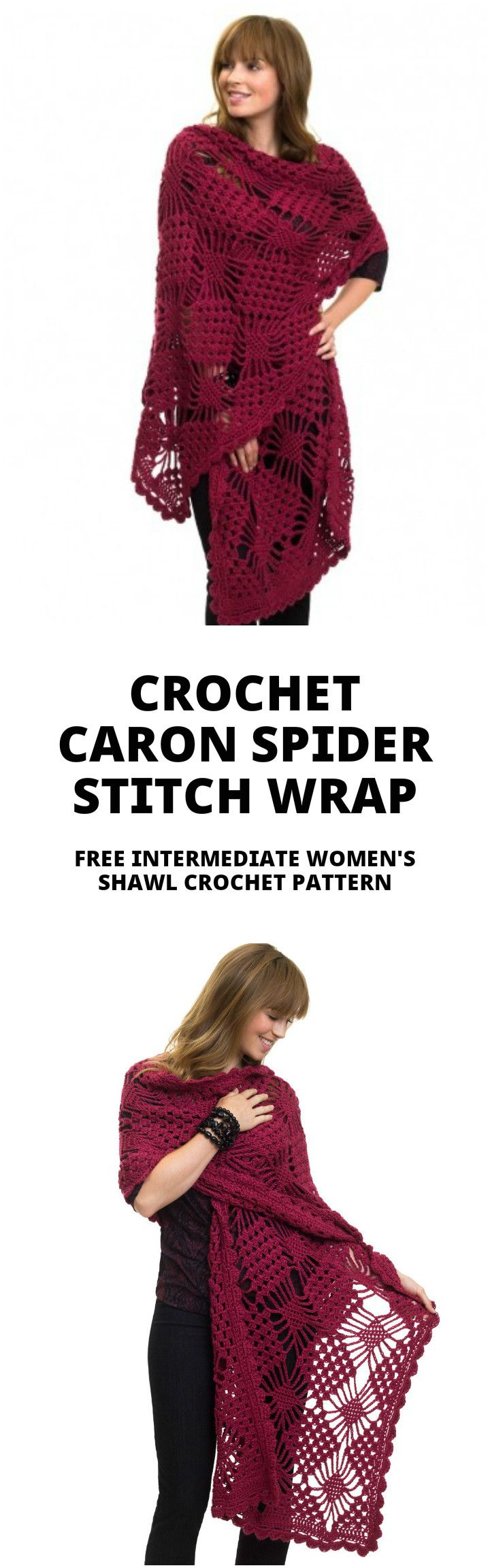 100 Free Crochet Shawl Patterns - Free Crochet Patterns - Page 5 of ...