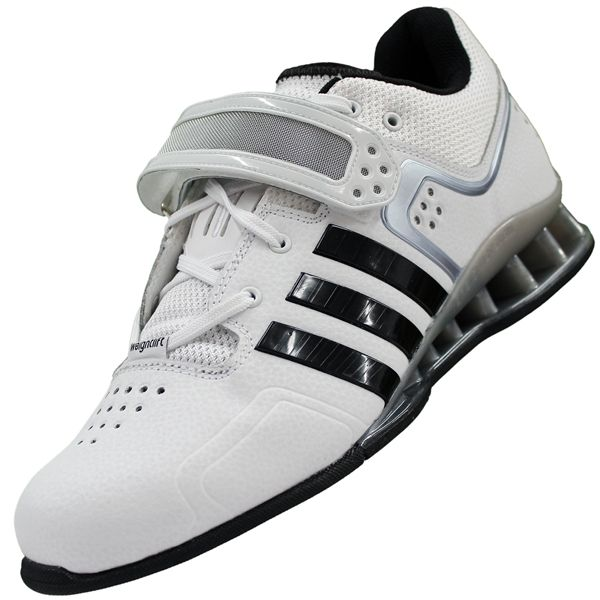 info for 0ee22 40785 adidas adiPower weightlifting shoes whiteblackgrey model M25733 Adidas  Women, Weight Lifting
