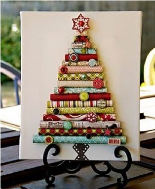 paper rolled tree manualitats Pinterest Craft, Holidays and Xmas