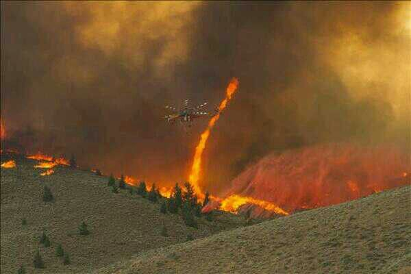 Not really cool since it is huge fire, but this is a fire tornado in Idaho