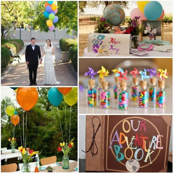 Up Movie Wedding Inspirations Disney Up Wedding Movie Theme Wedding Disney Wedding Theme