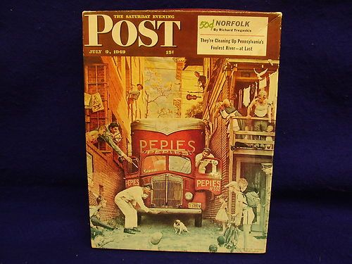 "Springbok Saturday Evening Post ""Traffic Conditions"" Puzzle- 18""x23.5""-Preowned 
