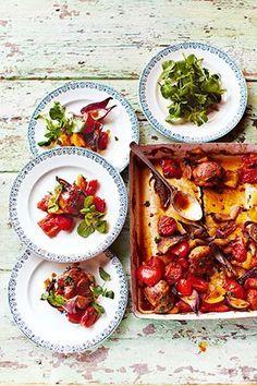 Ruck-zuck-Huhn aus dem Ofen Und andere schmackhafte Rezepte von Jamie Oliver