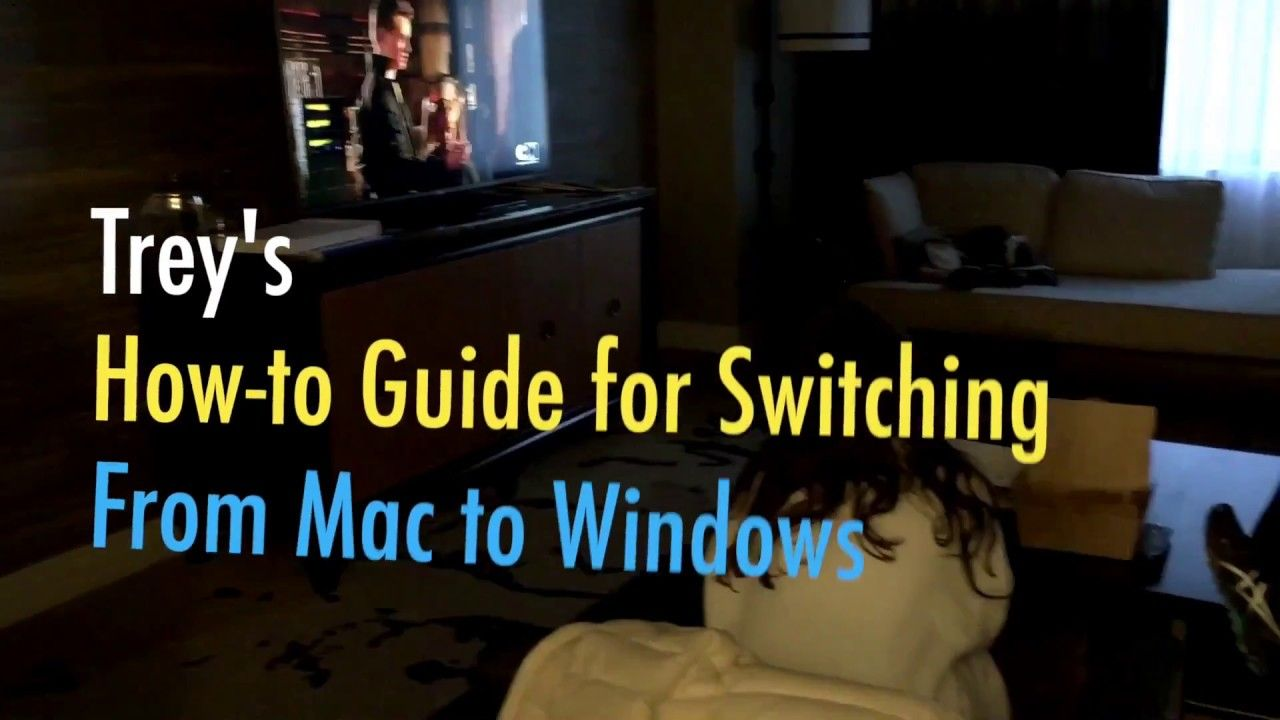 From Mac to Windows Syncing Machines and more Mac