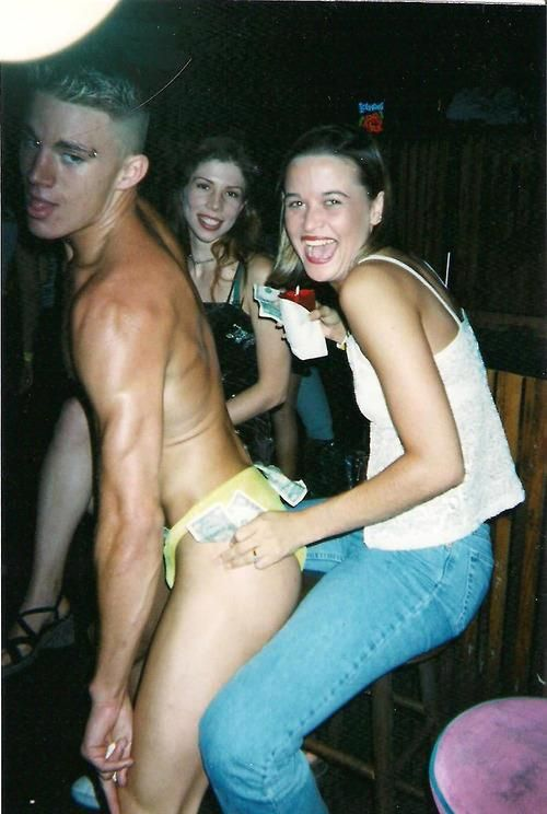 Here's a Picture of Channing Tatum when he was an actual stripper!
