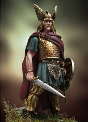 Vercingetórix - líder gaulês (Vercingetórix - Gallic leader)