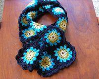 granny square scarfs