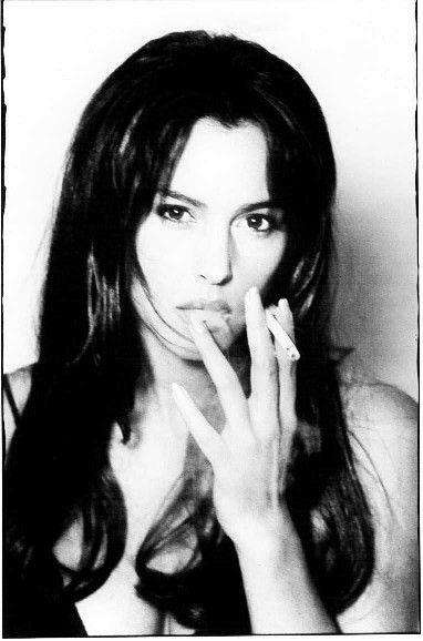 Eva Green Smoking Cigarettes Monica Bellucci Smokes Eva Green