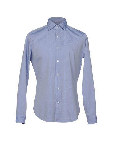 TRUZZI Men's Shirt Blue 15 ¾ inches-neck