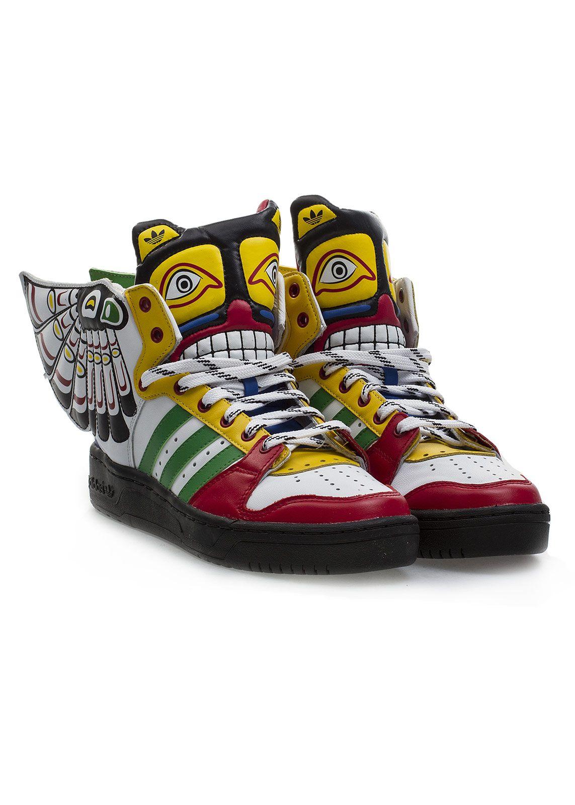 Adidas Originals Sportowe Buty Sportowe Adidas Originals By Jeremy Scott Eagle Wing Jeremy Scott Adidas Crazy Shoes Adidas