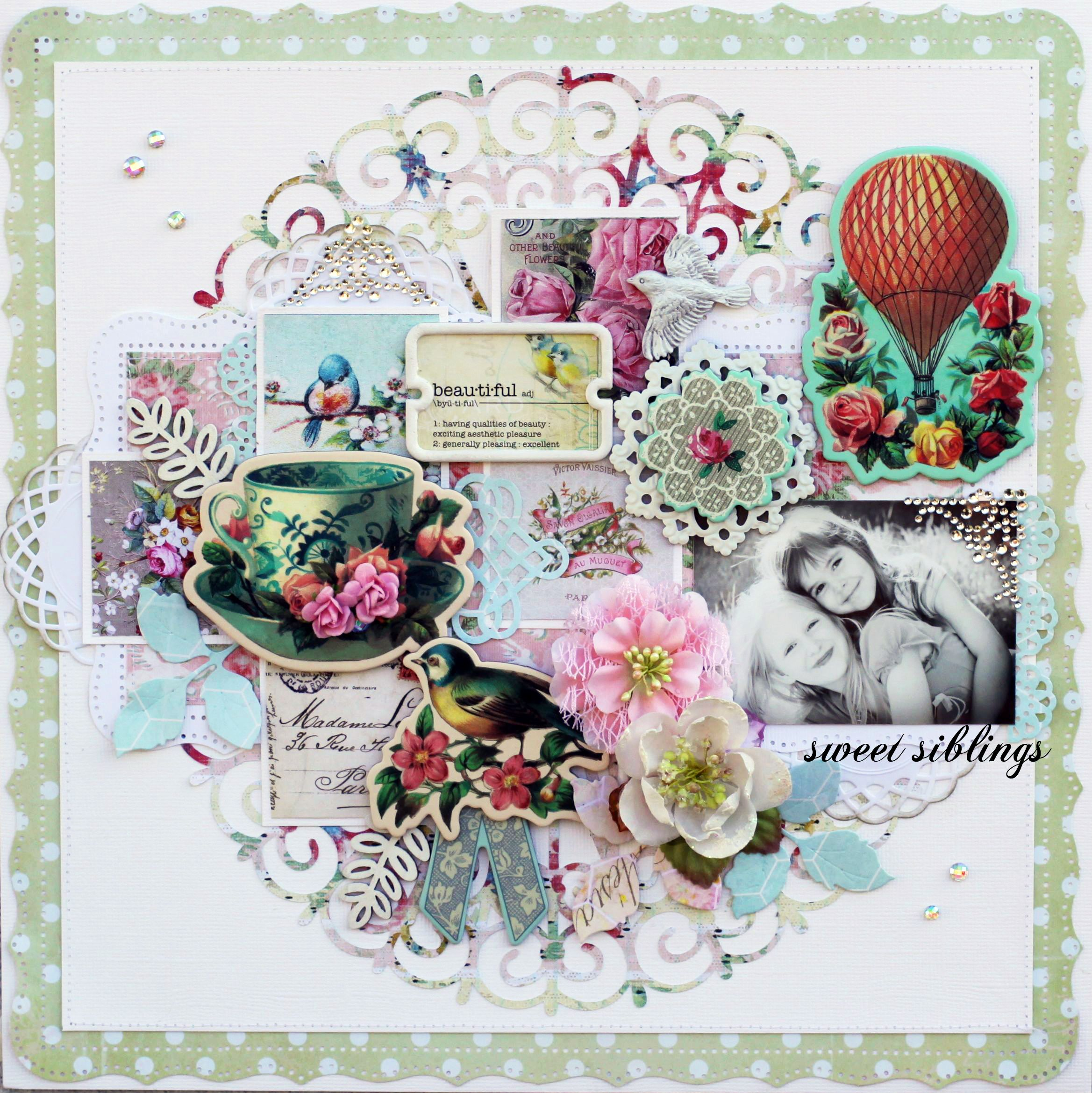 Sweet Darlings for Prima Marketing by Steph Devlin - Scrapbook.com
