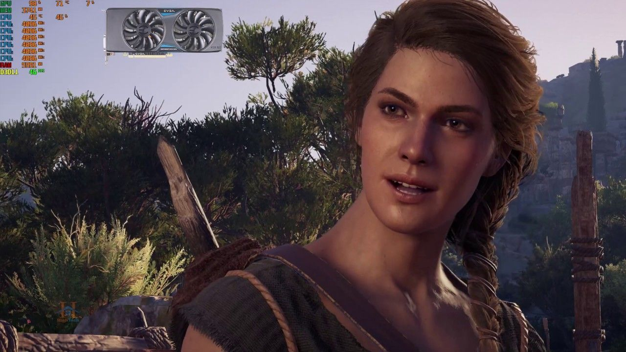 beautiful assassins creed odyssey gameplay