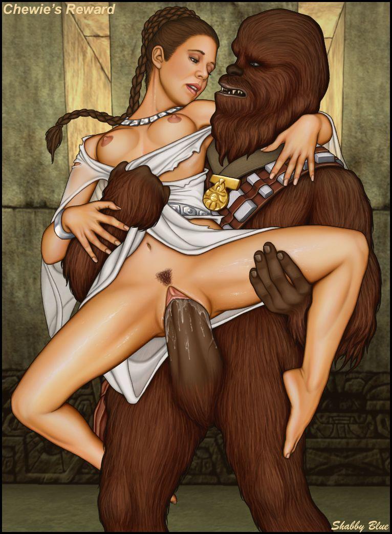 Chewbacca Star Wars Porn -