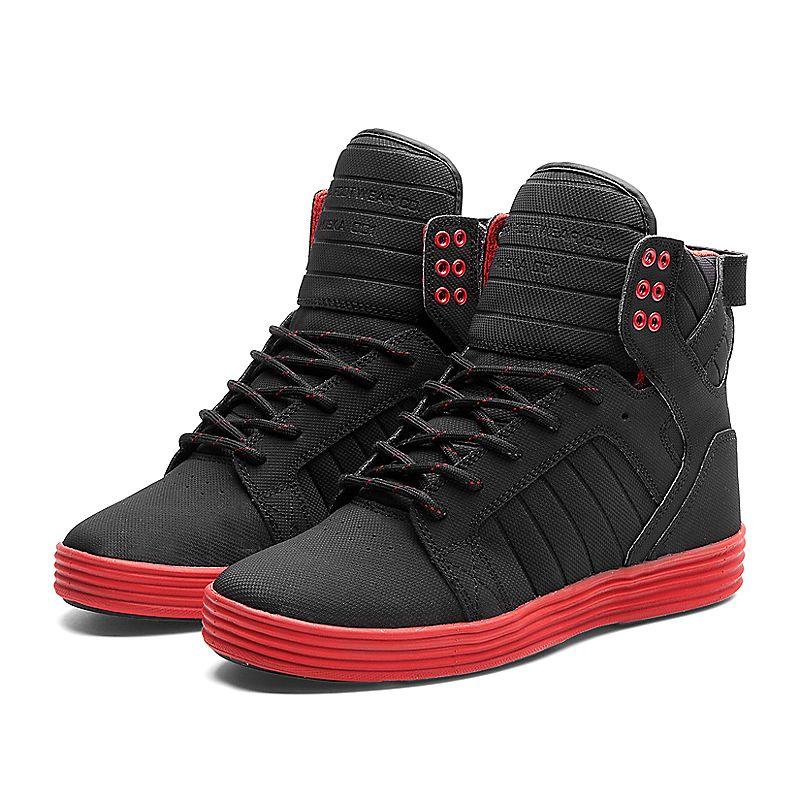 Supra Skytop Lite Quot Satellite Quot Shoe Black Red Red